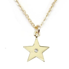 Julieta Jewelry Star CZ Charm Necklace