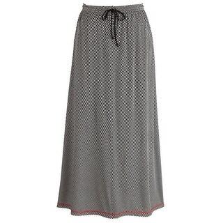 Women's Positive Negative Stripe Skirt