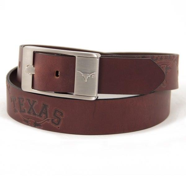University of Texas Brandish Leather Belt
