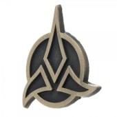 Star Trek Klingon Lapel Pin - GOLD