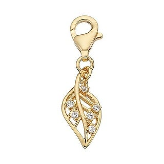 Julieta Jewelry Leaf Clip-On Charm