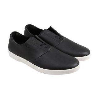 HUF Gillette Mens Black Leather Lace Up Lace Up Sneakers Shoes