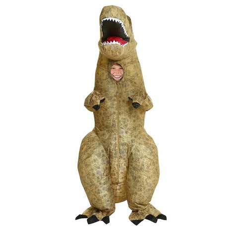 T-Rex Inflatable Costume Child One Size - Beige