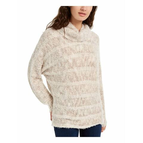 American Rag Juniors' Turtleneck Sweater Lt Beige Size Small