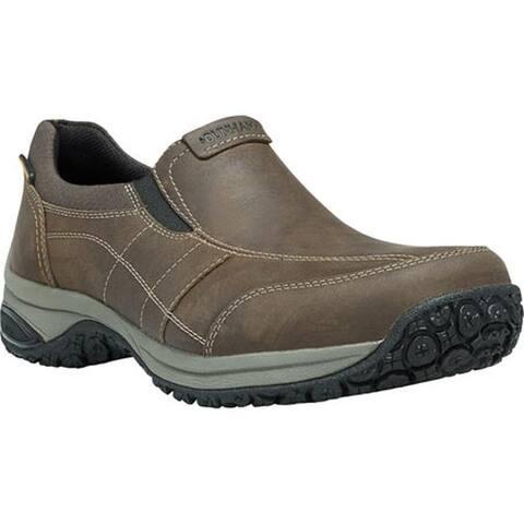 Dunham Men's Litchfield Slip-On Brown Leather