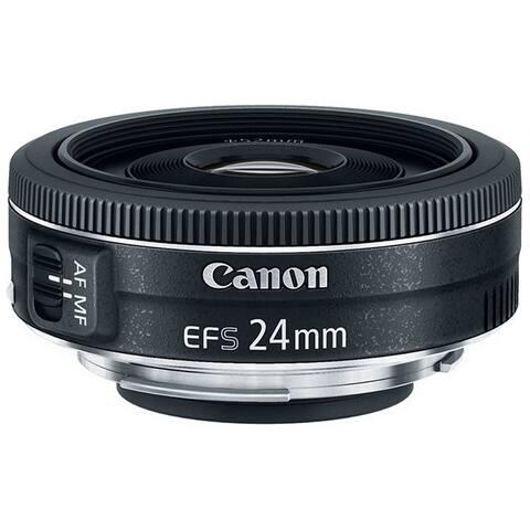 Canon EF-S 24mm f/2.8 STM Lens (International Model)