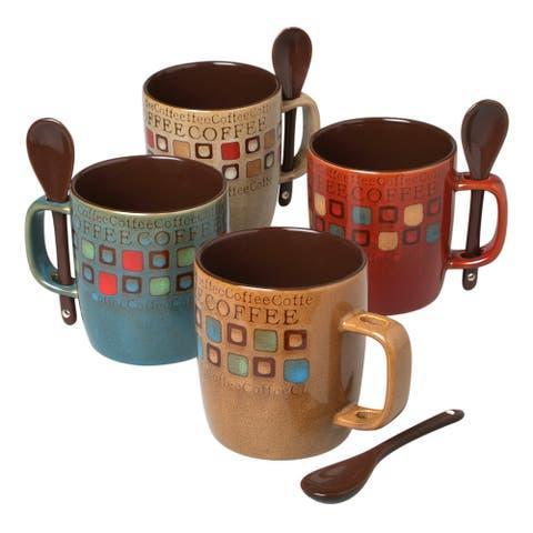 Mr. Coffee Cafe Americano 13oz Mug Set