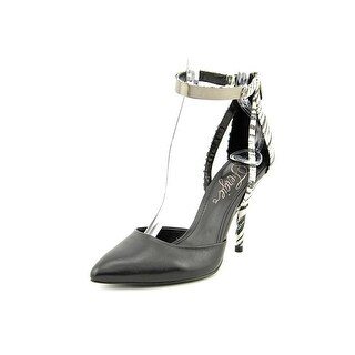 Fergie Jazz Pointed Toe Leather Heels