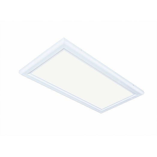 Inti Lighting 1'x2' Dimmable 32 Watt LED Flat Panel Light 2700K Warm Light