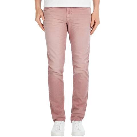 J Brand Mens Tyler Slim Fit Jeans 31 Thrashed Radish