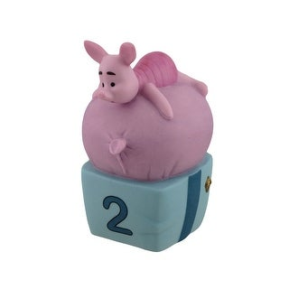 Disney Pooh & Friends Figurine Piglet TWO Is for Growing Figurine - Pink