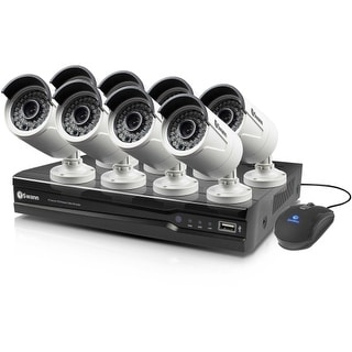 Swann SWNVK-873008-US Swann NVR8-7300 8 Channel 3MP Network Video Recorder & 8 x NHD-815 3MP Cameras - Network Video Recorder,