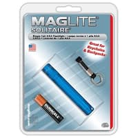 Maglite Solitaire SK3A116 AAA Cell Flashlight, Blue