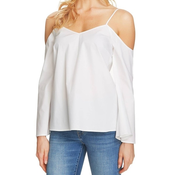 7bb72b4d8b6b5 State Womens Large Bell-Sleeve Cold-Shoulder Blouse - Free Shipping On  Orders Over  45 - Overstock.com - 22321200
