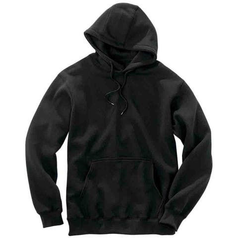 River's End Hoodie Mens Athletic Sweatshirt - Black