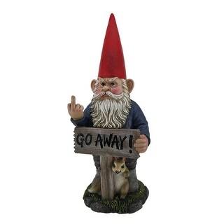 Take A Hike Go Away Garden Gnome Un Welcome Garden Statue