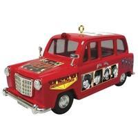 Heirloom The Beatles Help Portrait Car Christmas Ornament