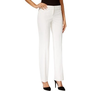 Nine West Womens Dress Pants Slight Flare Contour Waist