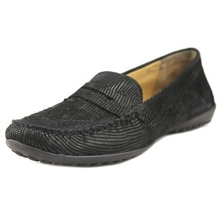 Vaneli Agneta Women Round Toe Synthetic Black Loafer