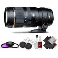 Tamron SP 70-200mm f/2.8 Di VC USD Zoom Lens for Canon International Version (No Warranty) Base Kit - black