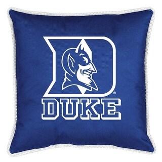 Duke University Decorative Jersey Trim Pillow