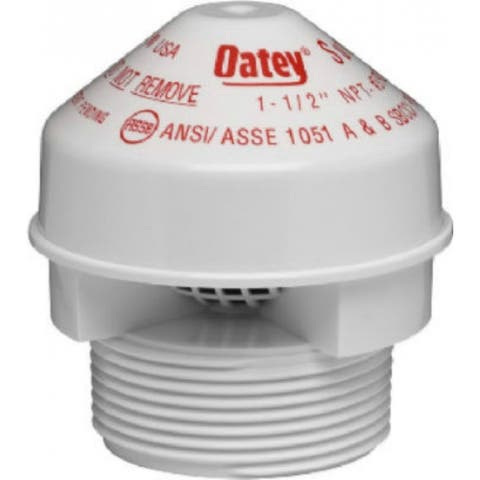 "Oatey 39016 Sure-Vent Air Admittance Valve, 1-1/2"" - 2"""