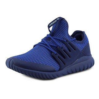Adidas Tubular Radial Youth Round Toe Synthetic Blue Sneakers