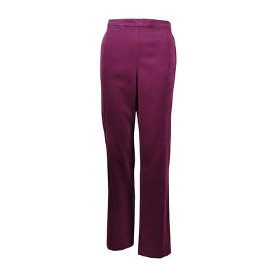Alfred Dunner Women's Calabria Proportioned Medium Pants