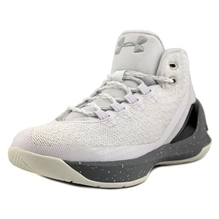 Under Armour GS Curry 3 Round Toe Synthetic Basketball Shoe