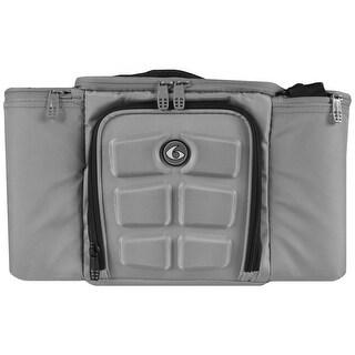 6 Pack Fitness Innovator 300 Meal Management Bag - Gray/Black