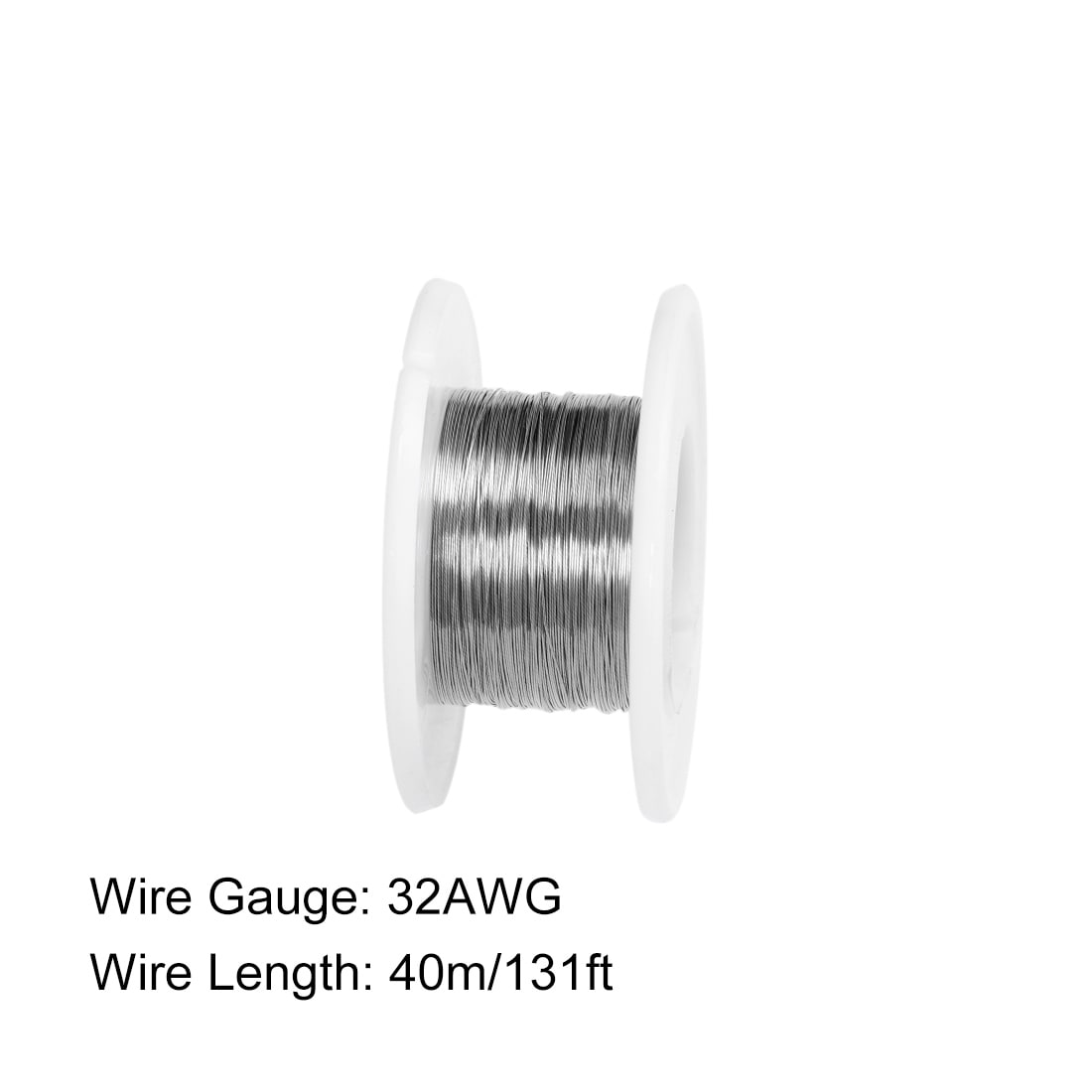 40M 131ft 0.2mm 32AWG Cable Nickle Heater Wire for Heating Elements