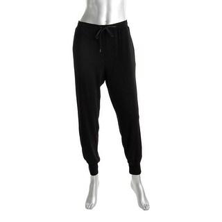 Karen Kane Womens Lifestyle Lounge Pants Chiffon Elastic Waist - L