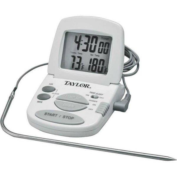 Taylor 1470N Classic Digital Oven Thermometer 4'