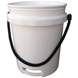 Encore Plastics 500441 Paint Pail With Rope Handle, 5 Gallon