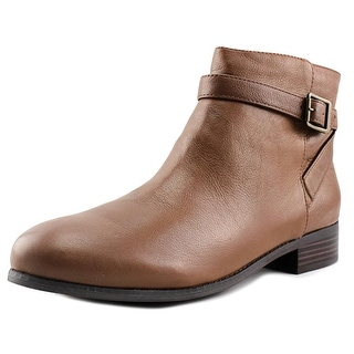 Trotters Lux Women W Round Toe Leather Ankle Boot