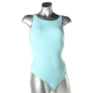 Proenza Schouler Womens Open Back High Neck One-Piece Swimsuit