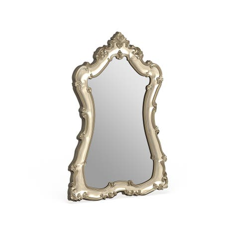Allan Andrews Lorelei Champagne Silver Mirror