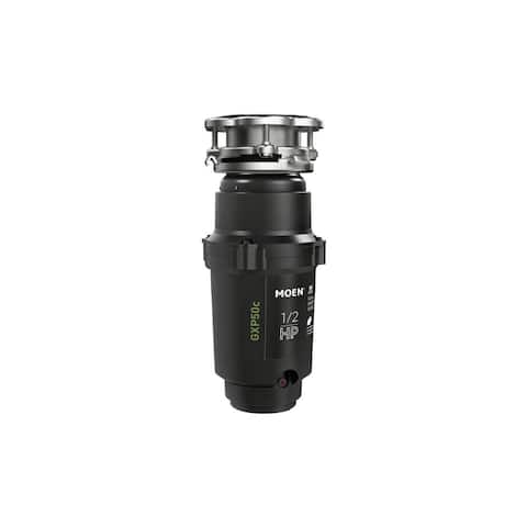 Moen GXP50C GX Pro 1/2 HP Continuous Garbage Disposal with a Vortex - Stainless Steel