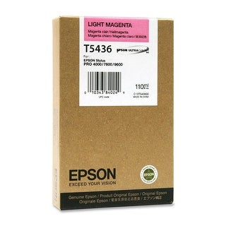 EPST543600 - Light Magenta Ultrachrome T543600 Ink - light magenta