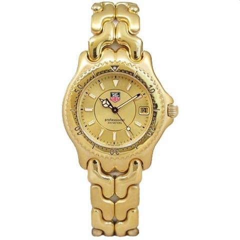 Tag Heuer Men's WG1133.BP0466 'Sel' Gold-Tone Stainless Steel Watch