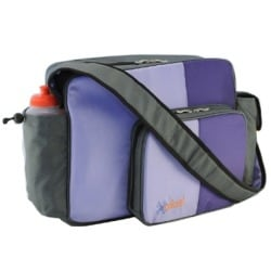O Yikes! Purple Messenger Bag