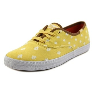 Keds CH Native Dot Round Toe Canvas Sneakers