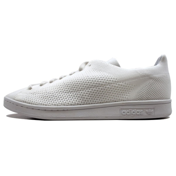 349180aa3d6 Shop Adidas Men s Stan Smith PK White White Primeknit BB3786 - Free ...