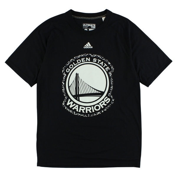 wholesale dealer ef0c3 ac419 Shop Adidas Mens Golden State Warriors Composition T Shirt Black -  BLACK WHITE - s - On Sale - Free Shipping On Orders Over  45 - Overstock -  22615914