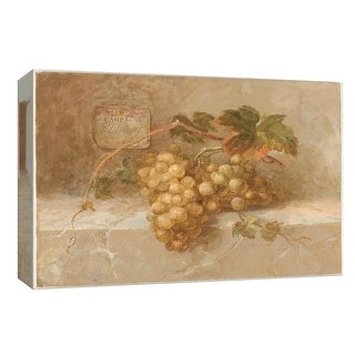 """PTM Images 9-153691  PTM Canvas Collection 8"""" x 10"""" - """"Champagne Grapes"""" Giclee Fruits & Vegetables Art Print on Canvas"""