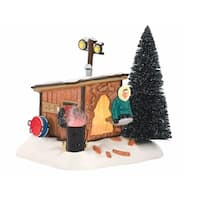 """Department 56 National Lampoon's Christmas Vacation """"Griswold Sled Shack"""" Lighted Building #4042408"""