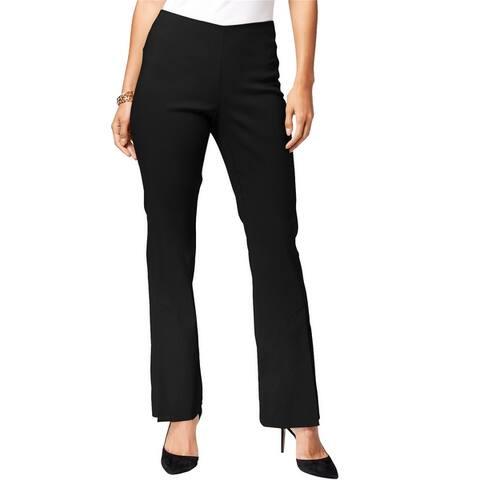 I-N-C Womens Pull-On Casual Trouser Pants