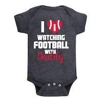 I Love Watching Football Daddy - Infant One Piece