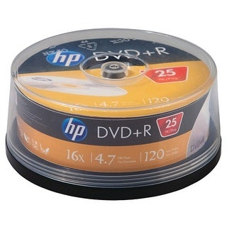 Hp Dr16025Cb 4.7Gb 16X Dvd+Rs (25-Ct Cake Box Spindle)|https://ak1.ostkcdn.com/images/products/is/images/direct/d1e6359ed683b6d38332af5300cd322e99ab0375/4.7Gb-Dvd%2BR-25Ct-Spindle.jpg?_ostk_perf_=percv&impolicy=medium