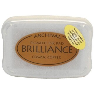 Brilliance Craft Ink Pad Large Cosmic Copper